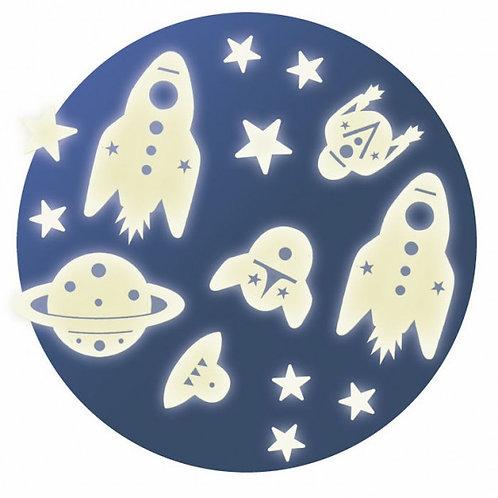 """Déco phosphorescente """"Mission Espace"""""""