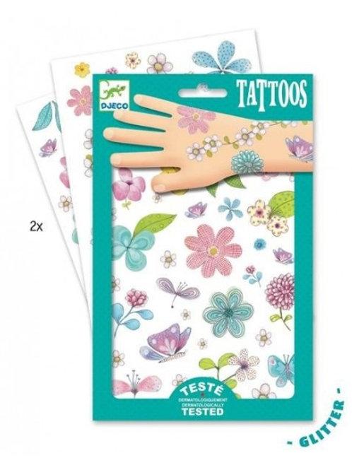 Tatouages glitters Belle des Champs