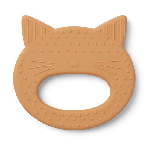Tête de chat en silicone à mâchouiller