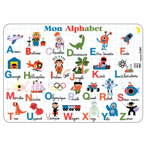 "Set de table ""Alphabet"""