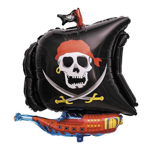 Ballon Millar Bateau Pirate