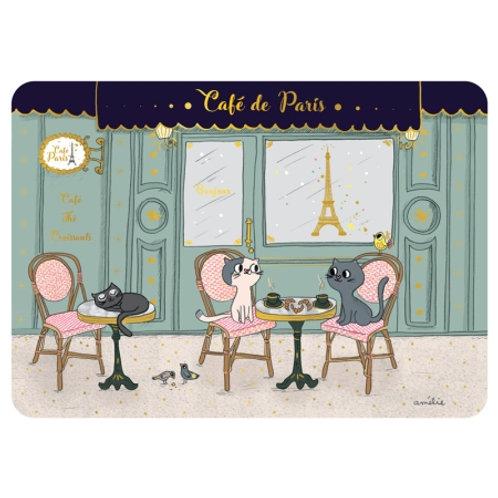 """Set de table """"Café de Paris"""""""