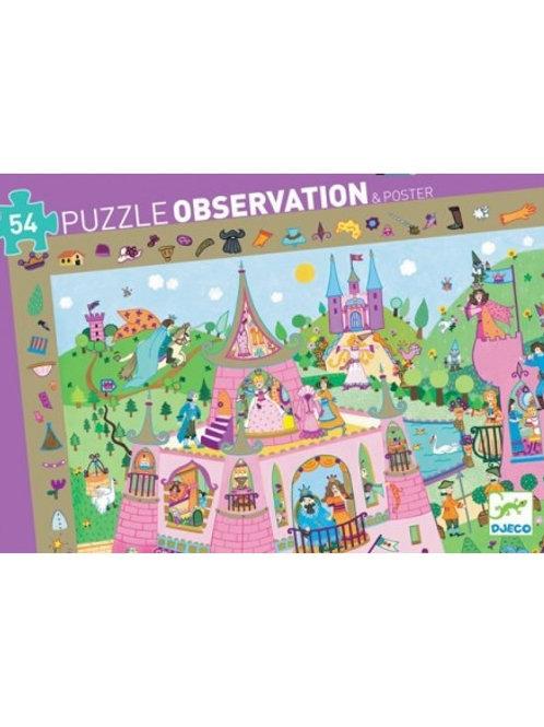 Puzzle d'observation Princesses 54 pièces