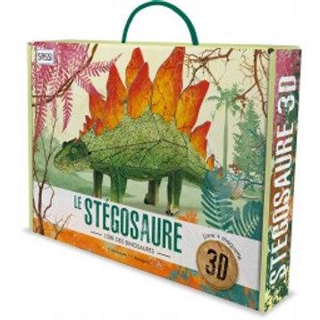Maquette 3D et son livre Stégosaure