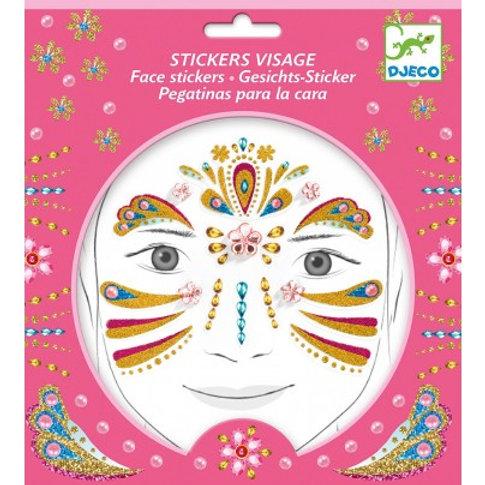 Stickers visage Princesse