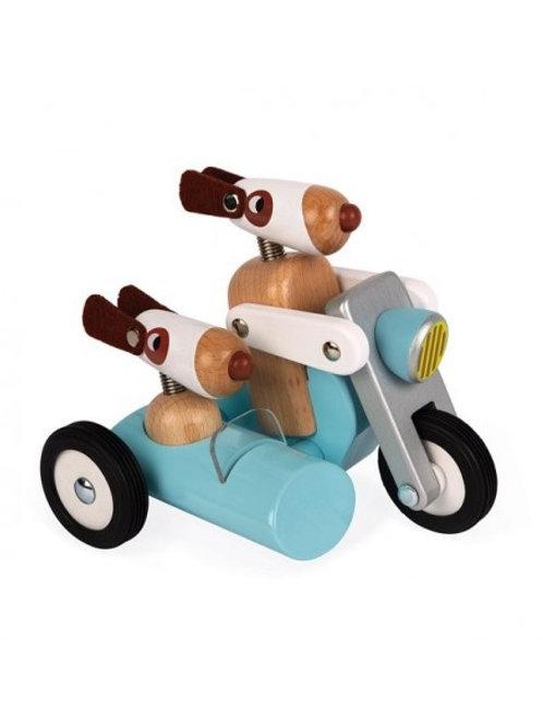 Sidecar Spirit en bois