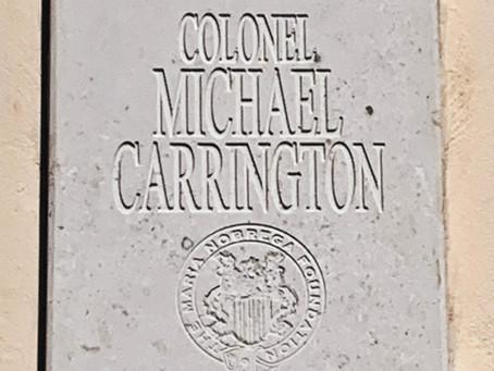 Colonel Carrington declared Honorary Citizen of Archita, Romania