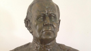 Colonel Michael Carrington bust unveiled in Archita, Romania