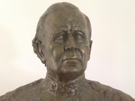 Colonel Michael Carrington bust unveiled in Archita, Romania