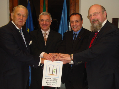 Statutes of the UNESCO International Traditional Knowledge Institute formally signed