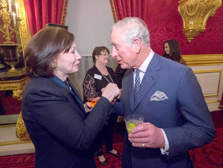 St James's Palace Reception for closing of The Prince of Wales' International Sustainability Unit
