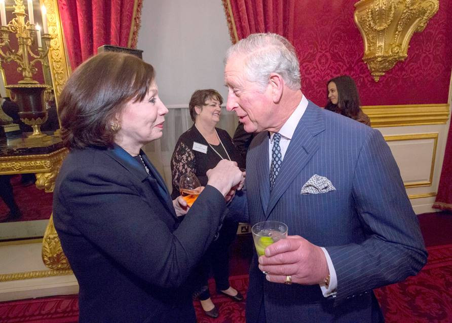 eception at St James's Palace on March 7th, to mark the closing of The Prince of Wales' International Sustainability Unit after 10 years.