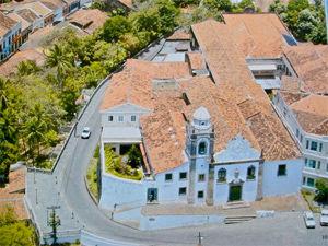 Arial View Igreja de Nossa Senhora da Misericordia