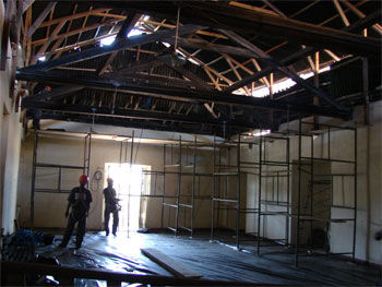 Roof restoration Igreja de Nossa Senhora da Misericordia