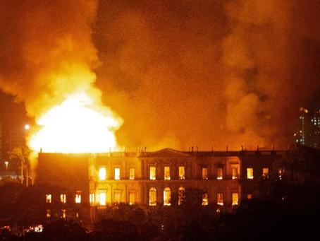 Devastating Fire at Brazil's National Museum