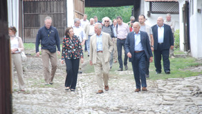 HRH The Prince of Wales visits Archita