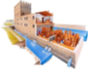 La Gualchiere di Remole Fulling Mill Plans Florence