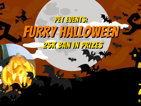 Pet Events: Furry Halloween