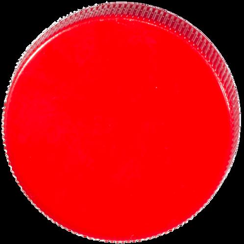 PP-Deckel rot 45mm 1 Stk.