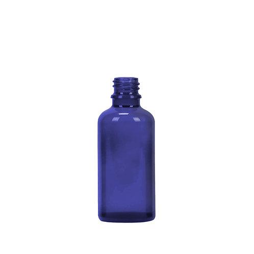 Blauglasflasche GL18 50ml 88 Stk.