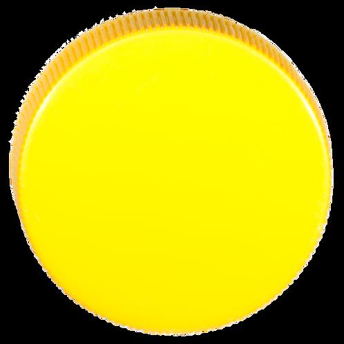 PP-Deckel gelb 38mm 1 Stk.