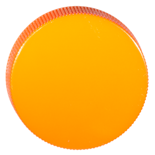 PP-Deckel orange 38mm 1 Stk.