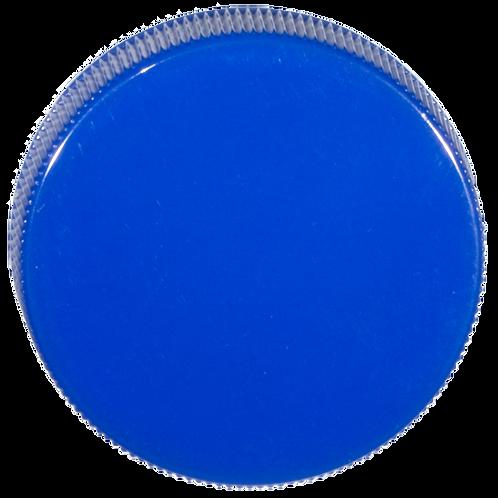 PP-Deckel blau 38mm 1 Stk.