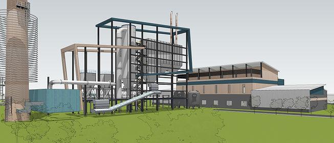Bio mass plant, Haryana