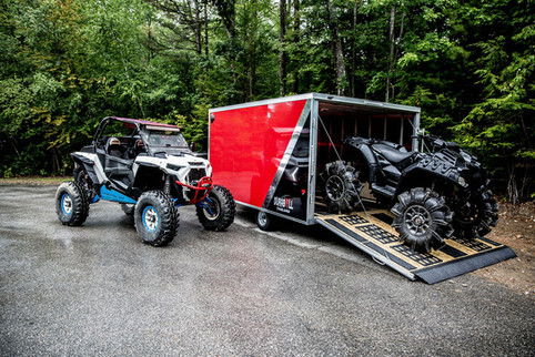 MultiSport Trailers with Side by Side