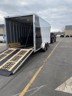 Inline trailer