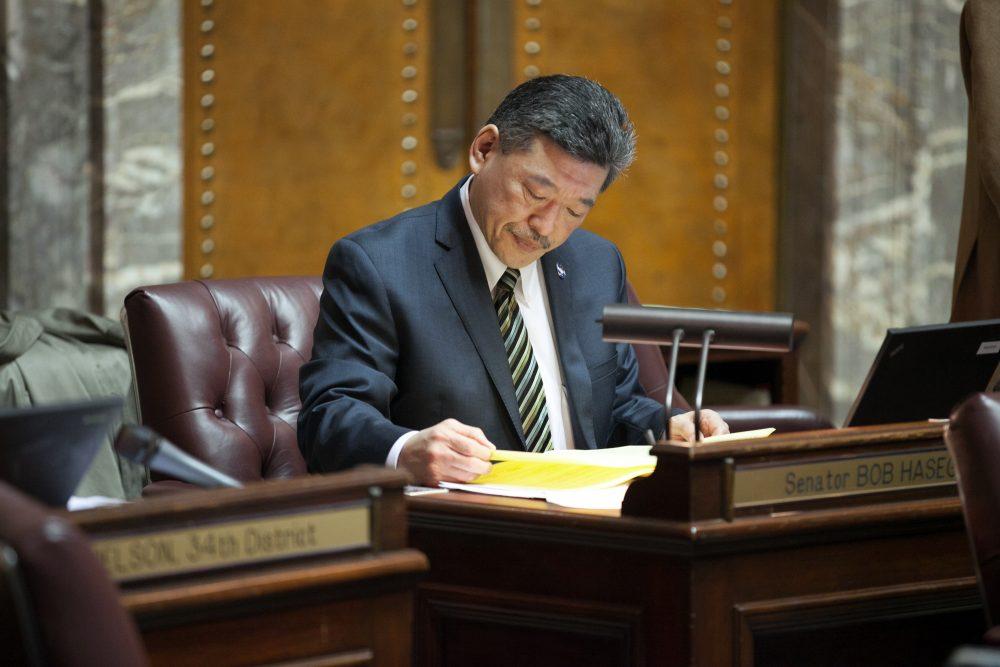 State Senator Bob Hasegawa is obliga