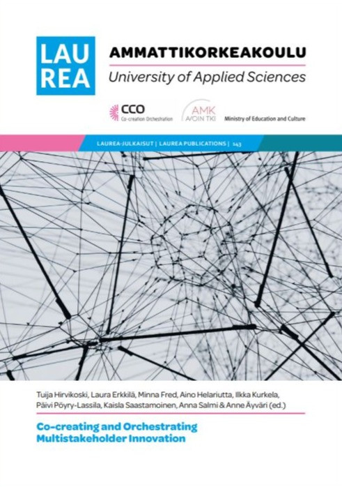 Cover page of CCO publication Co-creating and Orchestrating Multistakeholder Innovation