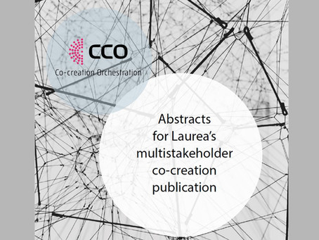 Abstracts on multi-stakeholder co-creation published