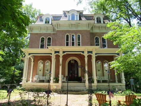 The McPike Mansion in Alton, IL
