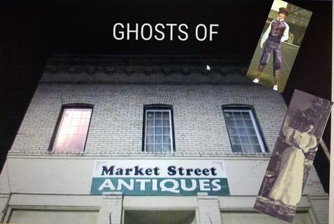 Ghosts of Market Street Antiques in Spokane, WA.