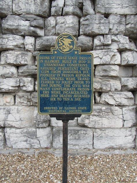Alton Penitentiary in Alton, IL