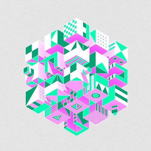composición cúbica #05