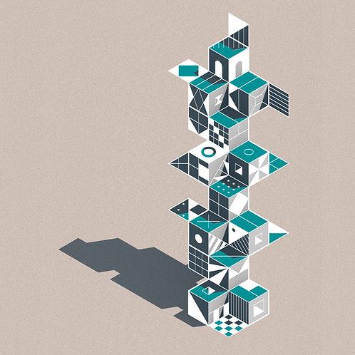 composición cúbica #02