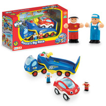 WOW Toys, Rocco's Big Race, Cars for 2yrs, WOW cars