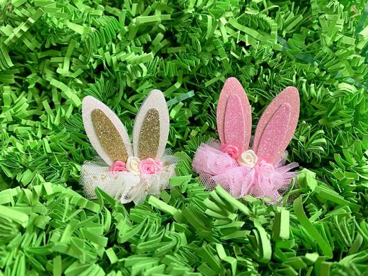Bunny Ear Hair Clips