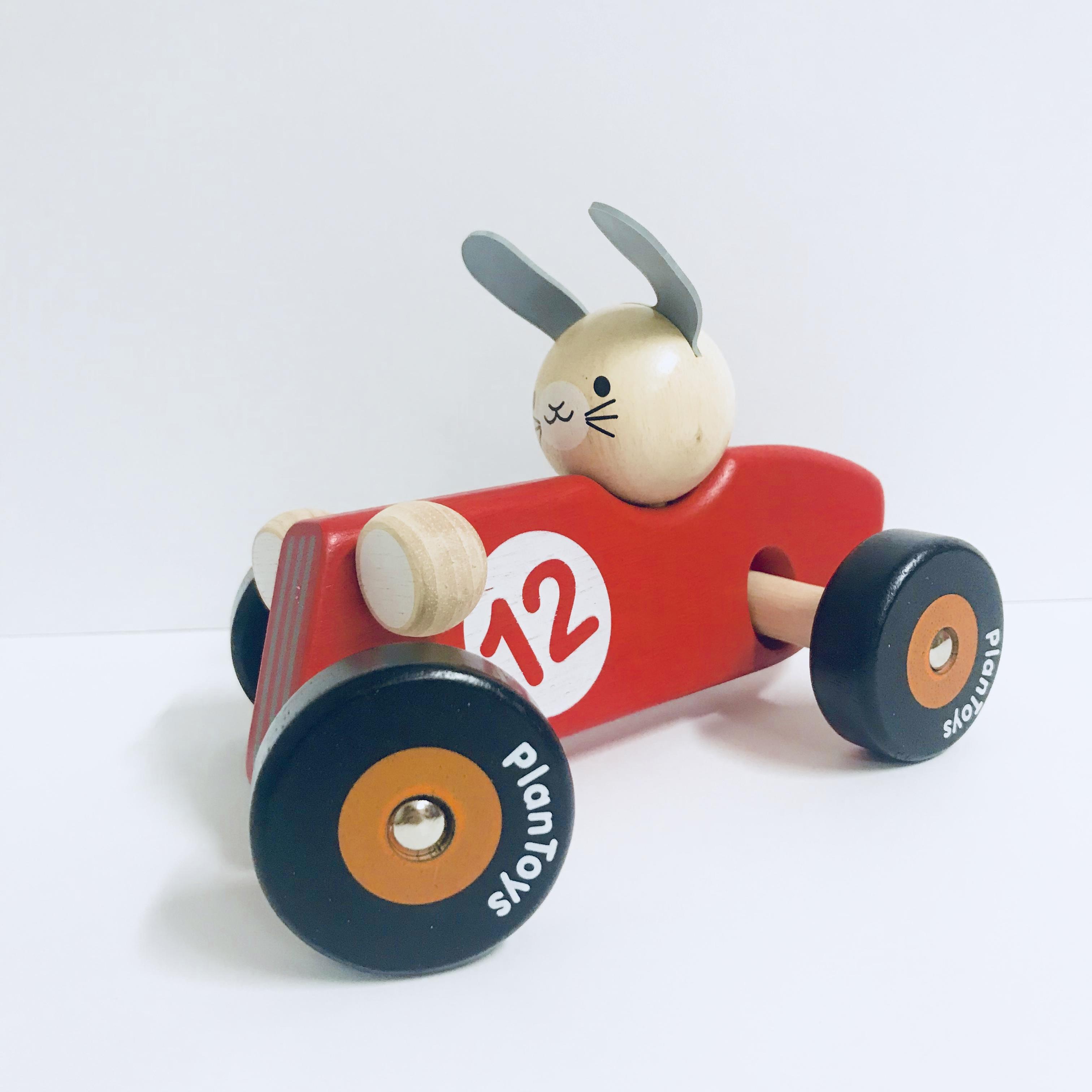 Plan Toys Rabbit Racecar