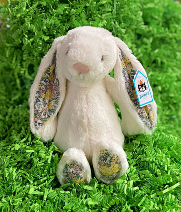 Jellycat Bunny with Fabric