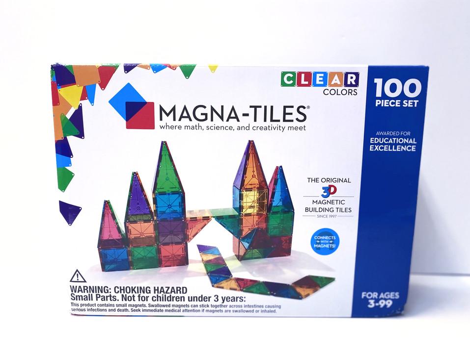 100 piece Magnatiles
