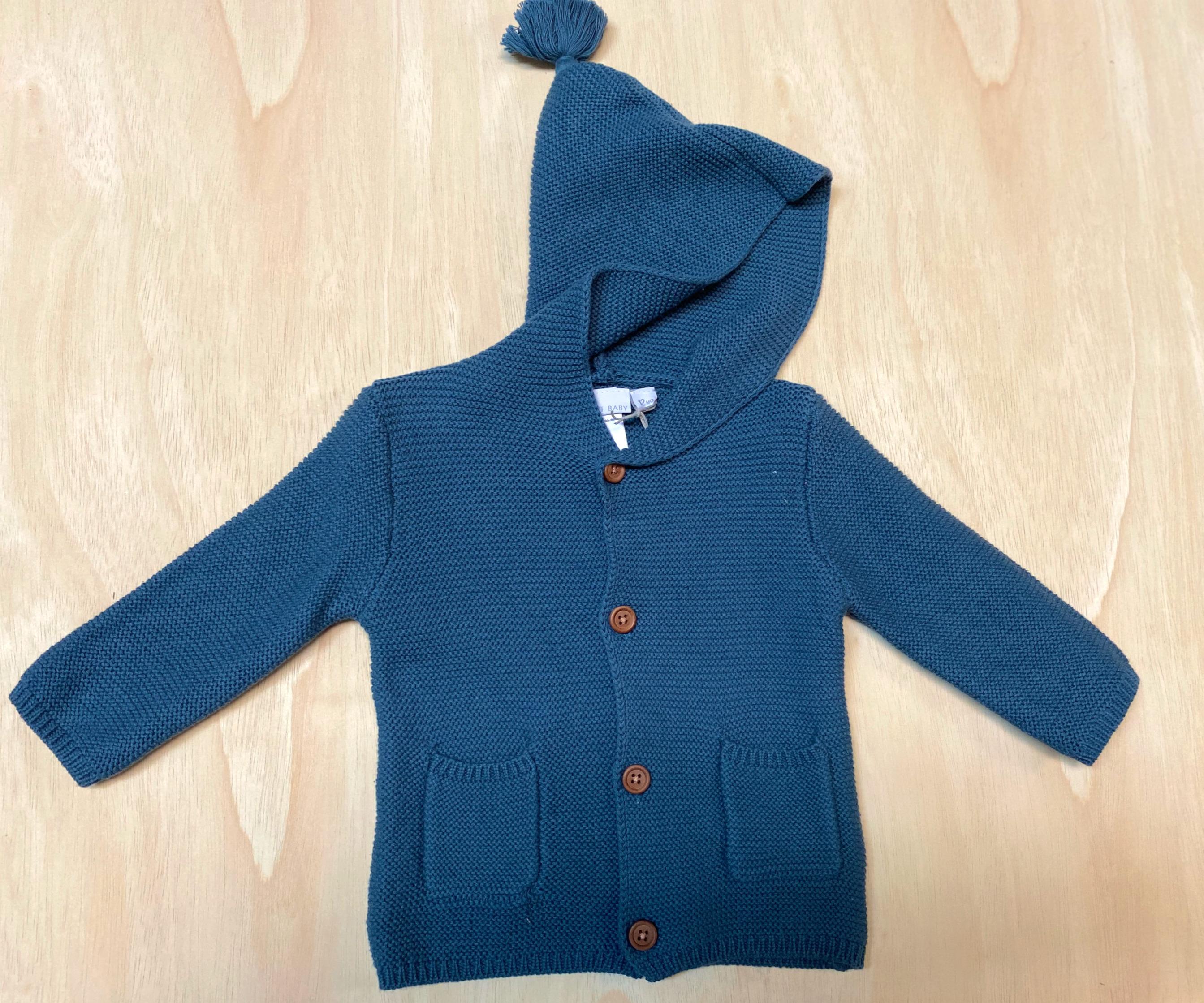 Elegant Baby Tassel Sweater