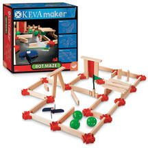 KEVA Maze Bots; KEVA Blocks; KEVA Building; Wooden Blocks
