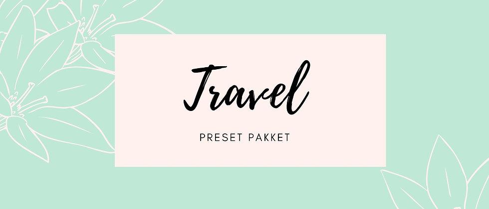 Preset pakket 'Travel'