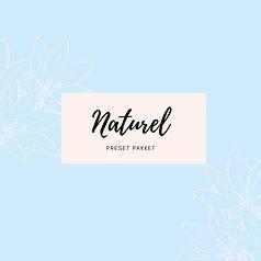 Preset pakket 'naturel'