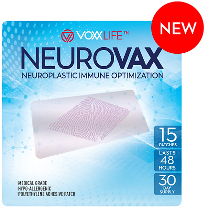 NeuroVax Neuroplastic Immune Optimization Patch (Pack of 15)