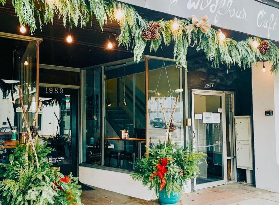 wildflour front of building christmas.jp