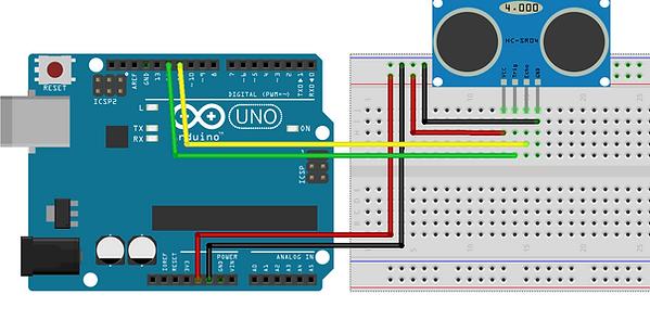 Arduino ile mesafe sensörü, Anadolu Yakası,maker,istanbul,robotik programlama kursu